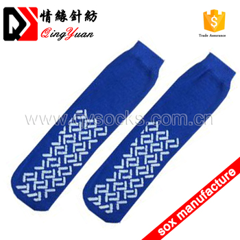High Quality Disposable Tube Airline anti-slip Socks wholesale