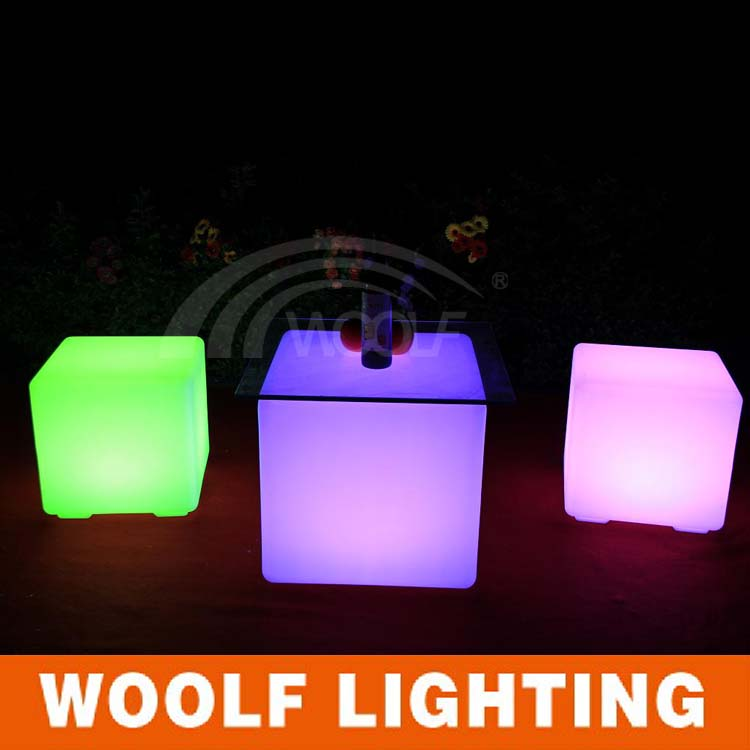 outdoor waterproof led small plastic cubes
