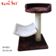 Alibaba Supplier banana leaf cat tree wholesale cat trees durable rubber dog ball