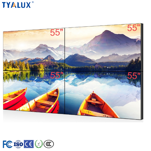 Trade assurance high contrast full hd 3D image 4k lcd flat screen tv indoor