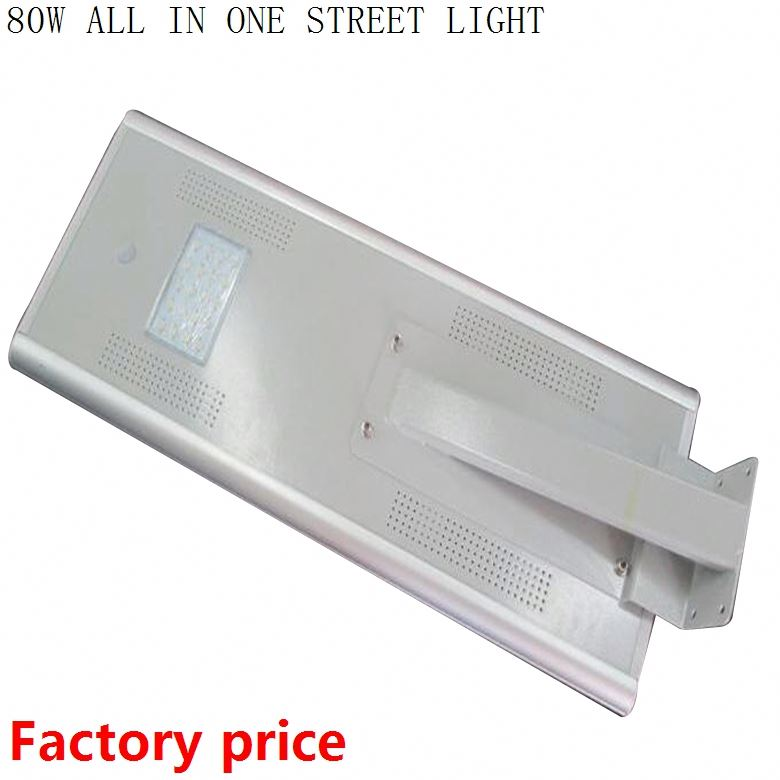 High quality Tanfon solar outdoor lamp waterproof all in one led street light 80w integrated solar street light