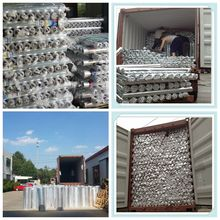 Single sided /Double sided foil fiberglass heat resistant industrial thermal insulation