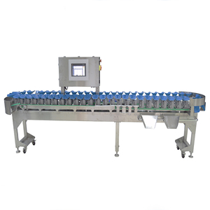 Automatic weight sorting machine for fish/seafood/fruit with conveyor
