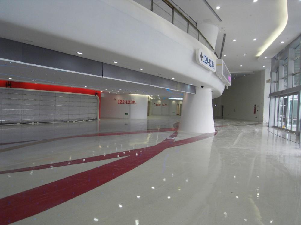 Self Leveling Finishes : Manufacturer solvent free epoxy self leveling floor finish