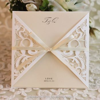 2014 cheap ivory laser cut lace wedding invitations buy laser cut 2014 cheap ivory laser cut lace wedding invitations filmwisefo