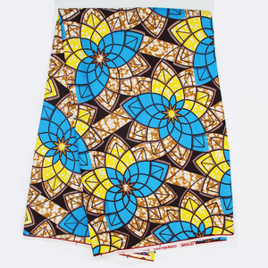 wholesale 100% cotton printed african dresses fabric material