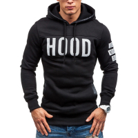Cheap plain no pocket 100% polyester oem logo hoodies sweatshirts pullover
