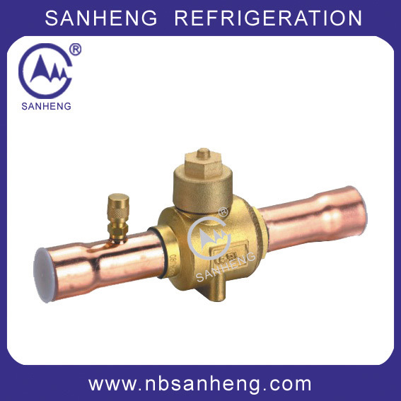 SH-17411 Good Price of Ball Valve With a Charging Port