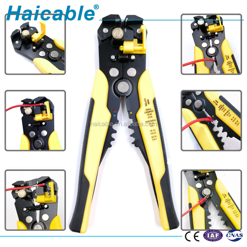 Best Multi-function 3 in 1 Mini Hand  Stripping Tool HS-056 Cable Cutter And Crimping  Plier