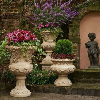 Cheap united emirates hot selling garden flower urn for - Planters contact provence ...
