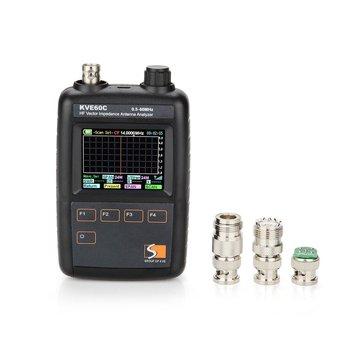 Swr Hf Vector Antenna Impedance Analyzer Meter Kve60c Kve-60c Kve 60c  Graphical Representation/ham Radio Upgraded Version Mfj - Buy Antenna