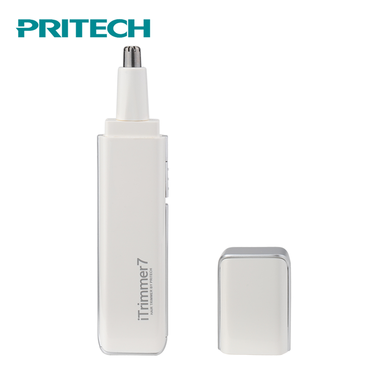 PRITECH Chinese Supplier Battery Operated Electric Nose Ear Hair Trimmer
