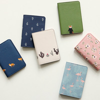 Cute Animal Passport Holder Passport Cover Bags Credit Card Holder for travel