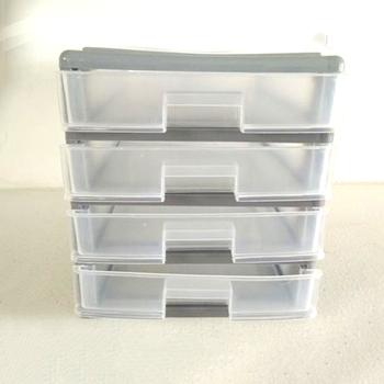 Special Type 4 Drawer Customise Clear Plastic Storage Box With Lid Plastic Drawer Storage Units Office Table Drawer Buy Personnaliser La Boite De Rangement En Plastique Transparent Avec Couvercle Unites De Rangement