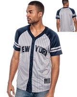 Men's New York Baseball Jersey Custom Cheap Stripe American Baseball Jerseys Wholesale
