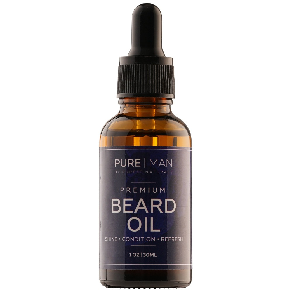 Private Label 100% Pure & Natural Organic Argan Oil Beard Oil For Beard Growth Smoothing Nourishing