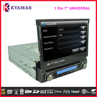 1 Din 7 Inch Wince 6.0 HD Touch Screen Car DVD+GPS+Bluetooth+Radio/RDS+TV+3G+USB+AUX IN+Games full functions