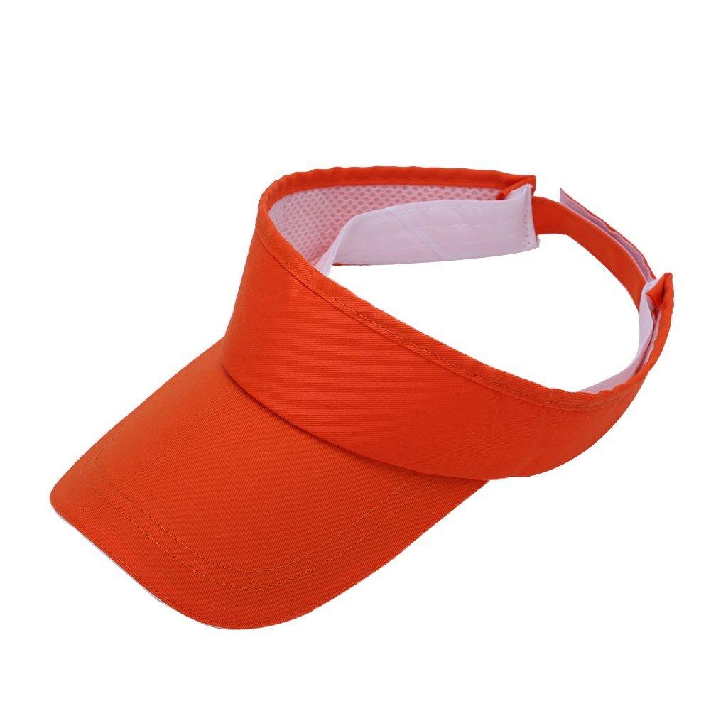 4f3225a77da01f Get Quotations · Golf Sun Visor Hats - Outdoor Sports Tennis Multicolor Sun Visors  Hats Adjustable Velcro Hats Caps