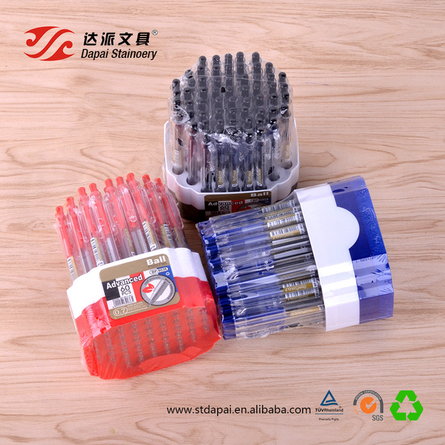 Wholesale cheap high quality 0.7mm plastic disposable ballpoint pen for shop