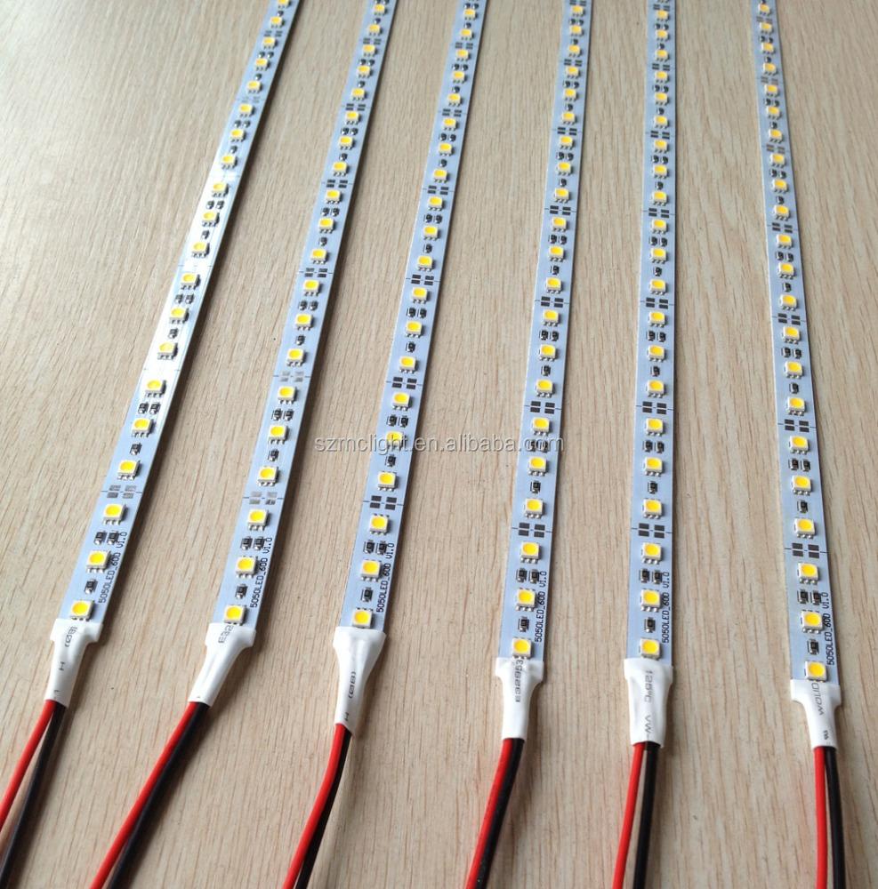 cheapest price aluminum led strip bar 5050smd 72leds/m dc12v 3 years warranty