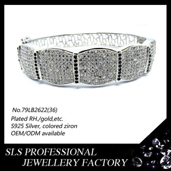 2015 Best Selling Sls 529 Silver Jewelry Chunky Wholesale Silver ...