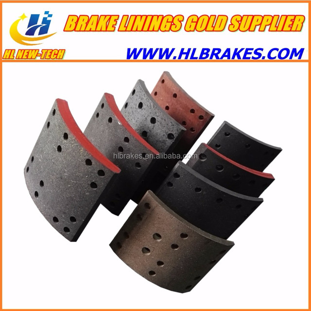 TATA brake lining / auto truck drum brake lining for TATA / FMSI9001 TATA spare parts