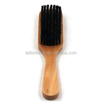 Logo customized wooden brush Household cleaning tools bathroom kitchen floor eco-friendly natura cleaning brush