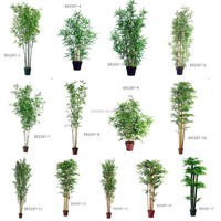 artificial best-quality bamboo trees