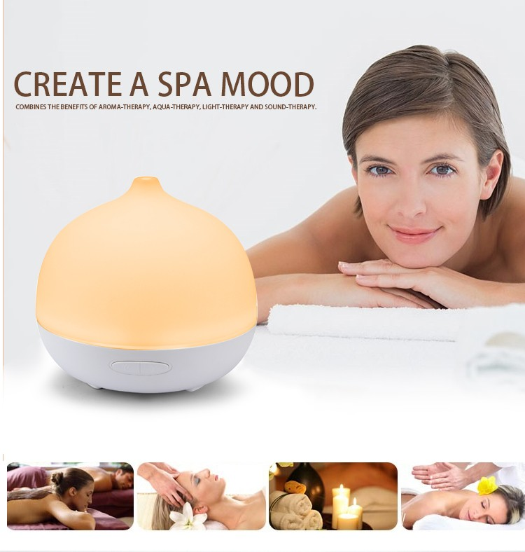 Essential Oil Diffuser 200Ml Portable Ultrasonic Aroma Humidifier aromatherapy diffuser With 7Colorful Led Light