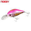 3D Eyes Big Tongue Artificial Bait Floating Type Fishing Crank Lures