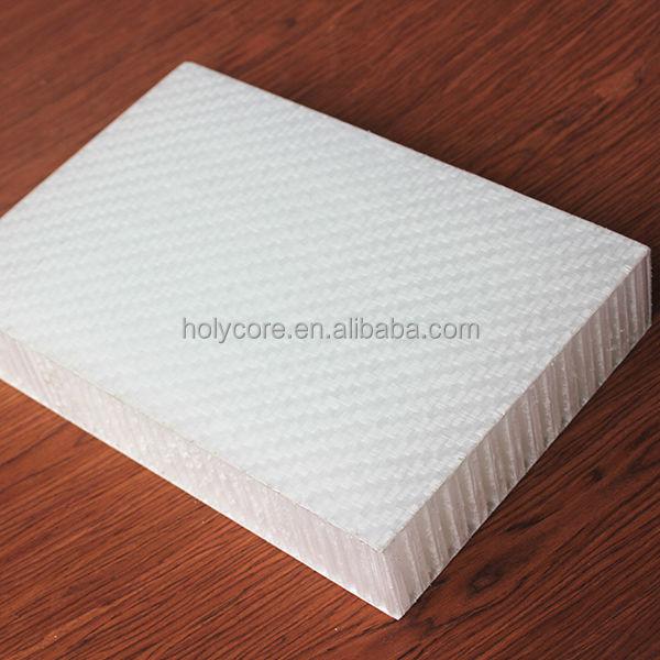 Polyurethane Honeycomb Panels : Light weight plastic fiberglass polypropylene honeycomb