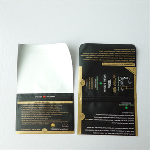 plastic rolling tobacco pouch/tobacco pouch/Tobacco pouch with zipper