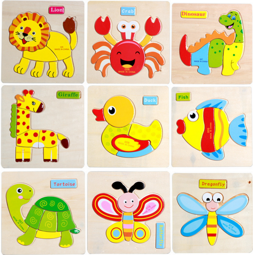 online shopping 3d jigsaw puzzle Toy for kids