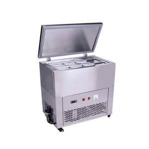 Industrial Block Making Multi Flavor Cream Snow Flake Ice Shaving Machine