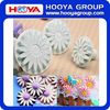 3 Pcs Veined Sunflower Daisy and Gerbera Flower Fondant Cake Sugarcraft Decorating Kit Cookie Mould Icing Plunger Cutter Tools