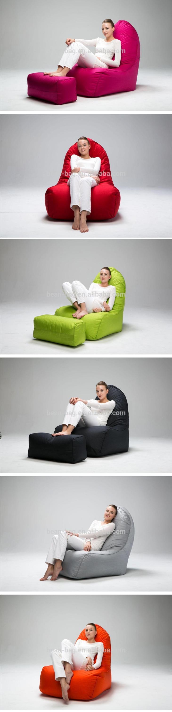 Living Room Furniture Fashion Lady Top Choice Fancy Bean Bag