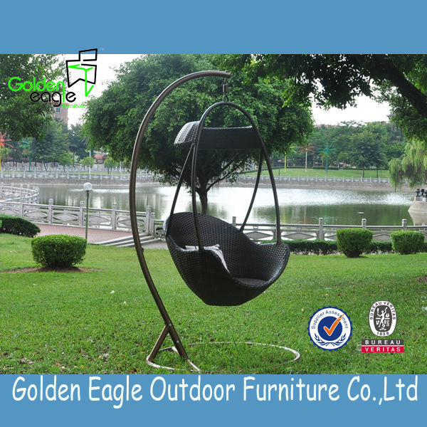 All weather outdoor garden swing with cool feeling