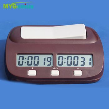 factory price for chess clock Ccancj chess game clock timer/desk&table alarm clock/sports goods