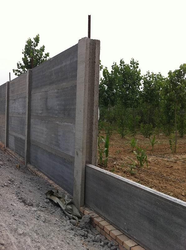 Precast concrete fence mold concrete fence designs precast concrete fence panels machine buy - Concrete fence models design ...