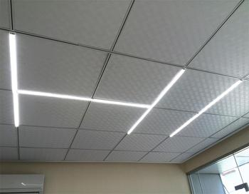 2018 New Type Ceiling Mount Led Recessed Linear Panel Light Product