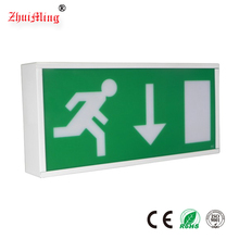 Maintained Channel Emergency Lighting, Rechargeable LED SMD Exit Sign