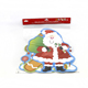High Quality Christmas Removable Window Sticker