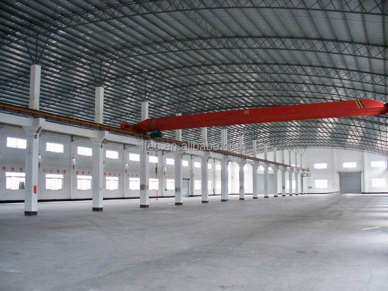 Low Cost Metal structure Steel Fabrication Workshop Layout