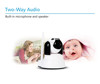 Smart phone recording baby monitor wireless baby camera with two-way audio