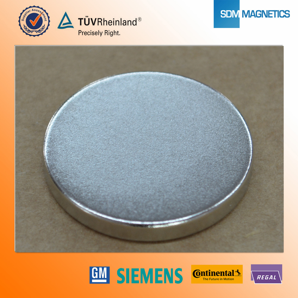 Flexible Axial Magnetized N52 Neodymium Magnets