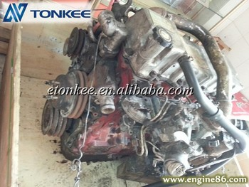Kobelco SK200-8 Engine assembly , SK200-8 Complete engine assembly
