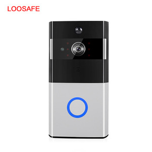 Loosafe Motion Detection Smart Video doorbell wifi door bell camera Security door bell camara