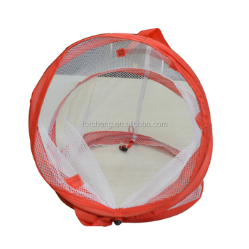 recyclable 100% Polyester pop up foldable hamper