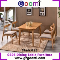 Goomi Dining Room Chair Furniture Set G605# Home Furniture Oak Furniture From China