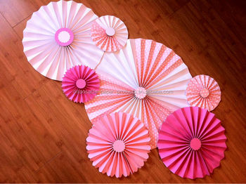 2015 new pink diy paper rosettes fan backdrop paper paper flowers 2015 new pink diy paper rosettes fan backdrop paper paper flowers flower garland garland for mightylinksfo